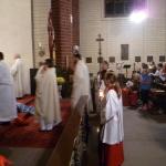 Angekommen am Altar