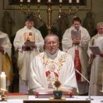 Prof. Machniak am Altar