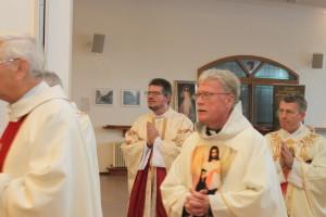 Einzug der Priester