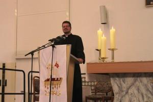 Moderator Pastor Markus Berief