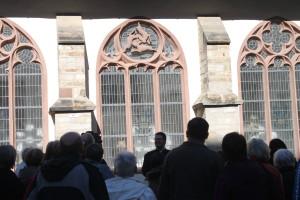 Dreihasenfenster im Dom